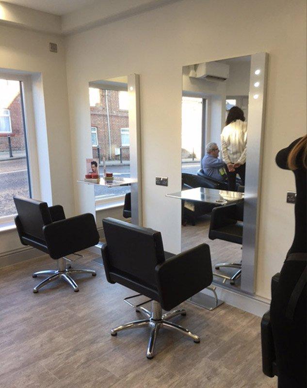 Bowburn hair styling chairs